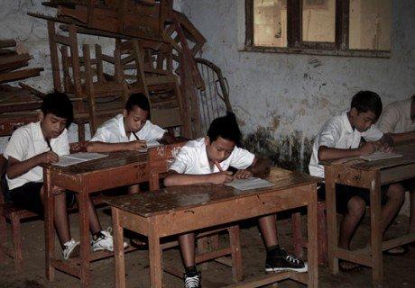 Miris, Dekat Ibukota Negara Tak Bisa Ikut Wajib Belajar 12 Tahun